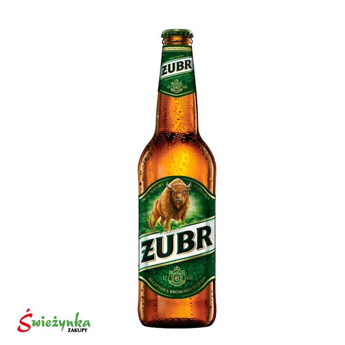 Piwo Żubr butelka