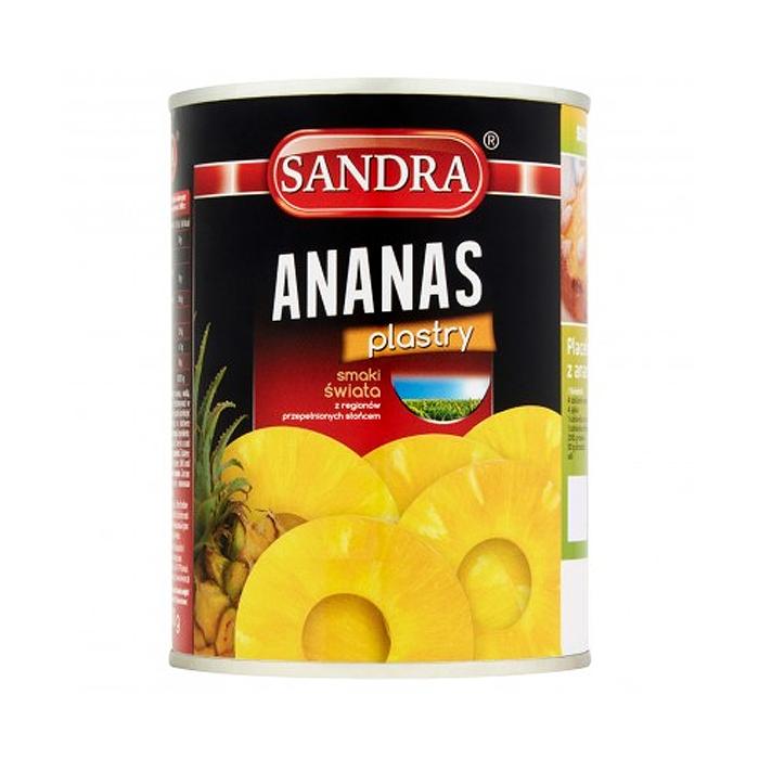 Ananasy Sandra 565g