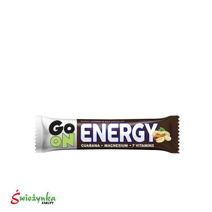 Baton orzechowo-karmelowy Energy Sante go on! 50g