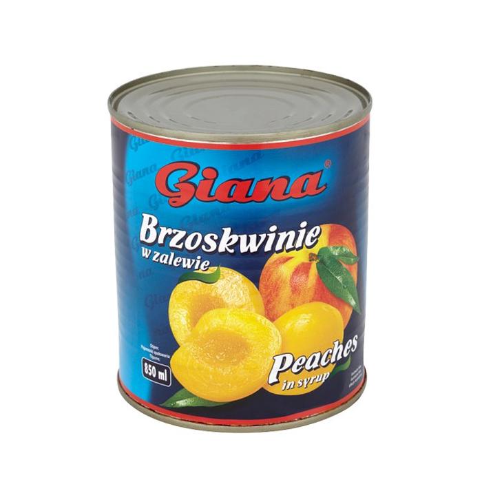 Brzoskwinie Giana 850ml