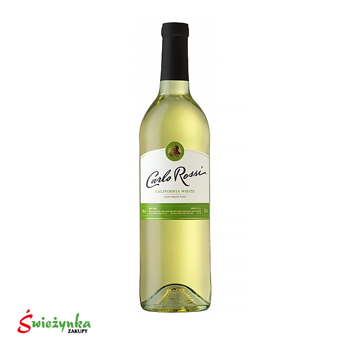 Wino Carlo Rossi White Sweet 750ml