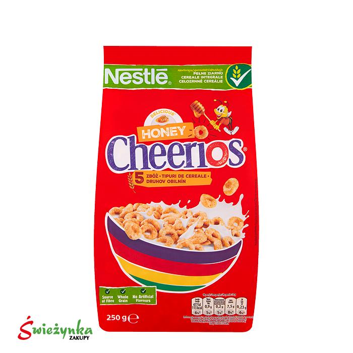 Płatki śniadaniowe Nestlé Cheerios Miodowy 250g