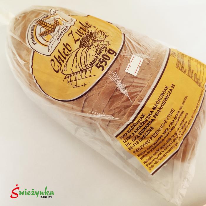 Chleb Zwykły pszenno-żytni Maćkowiak Osieczna 550g
