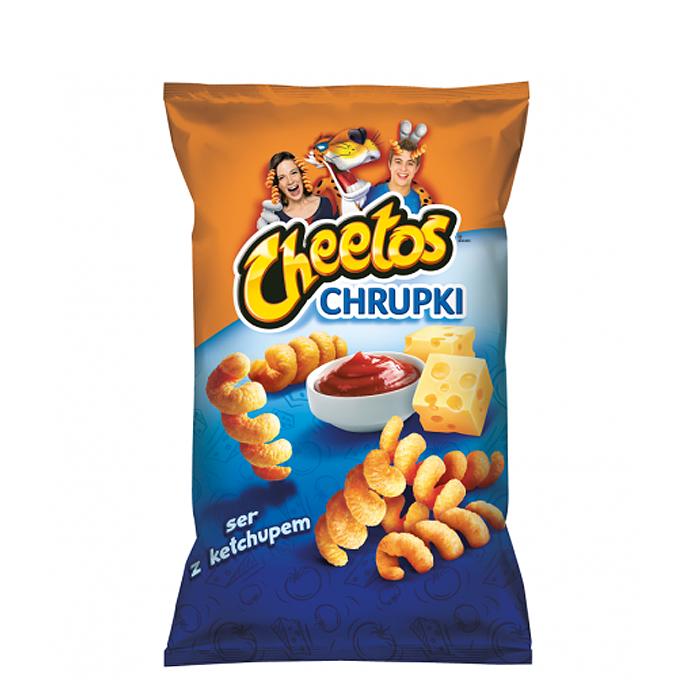 Cheetos Spirals Ser/Ketchup 80g