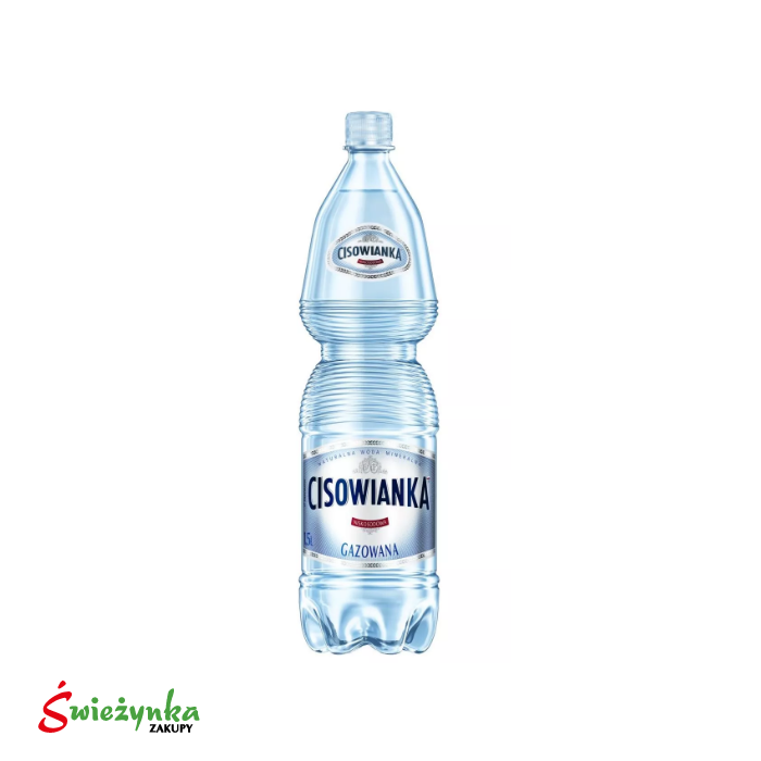 Woda mineralna lekko gazowana Cisowianka 1,5 l