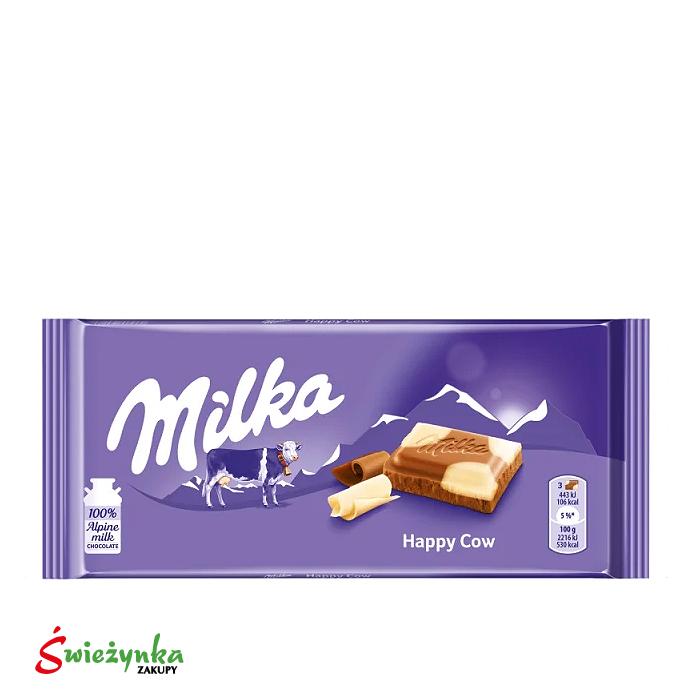Czekolada mleczna łaciata Milka 100g