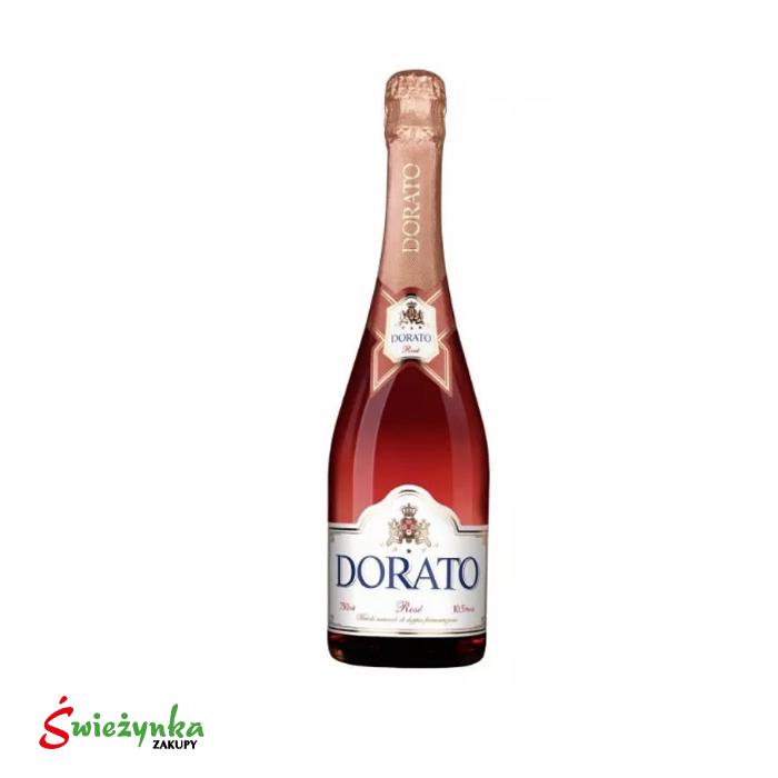 Wino Dorato Rose słodkie musujące 750ml
