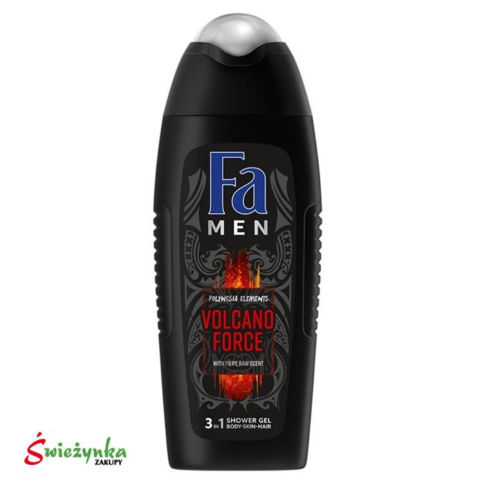 Żel pod prysznic 3in1 Fa Men Volcano Force 400ml