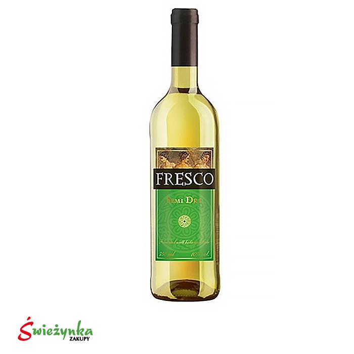 Wino Fresco półwytrawne białe 750ml