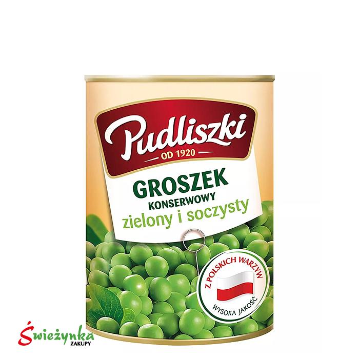 Groszek konserwowy Pudliszki 400g