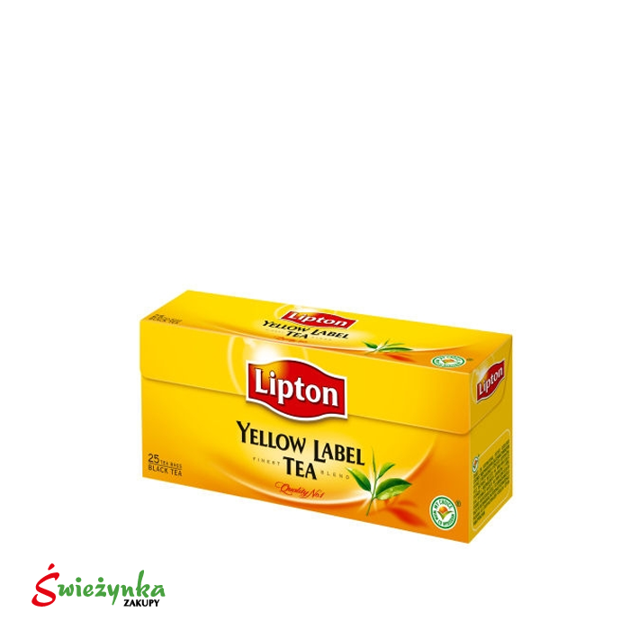 Herbata czarna Lipton Yellow Label 25 szt.  50g