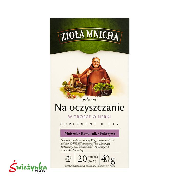 Herbatka ziołowa na oczyszczanie Mnicha 40g