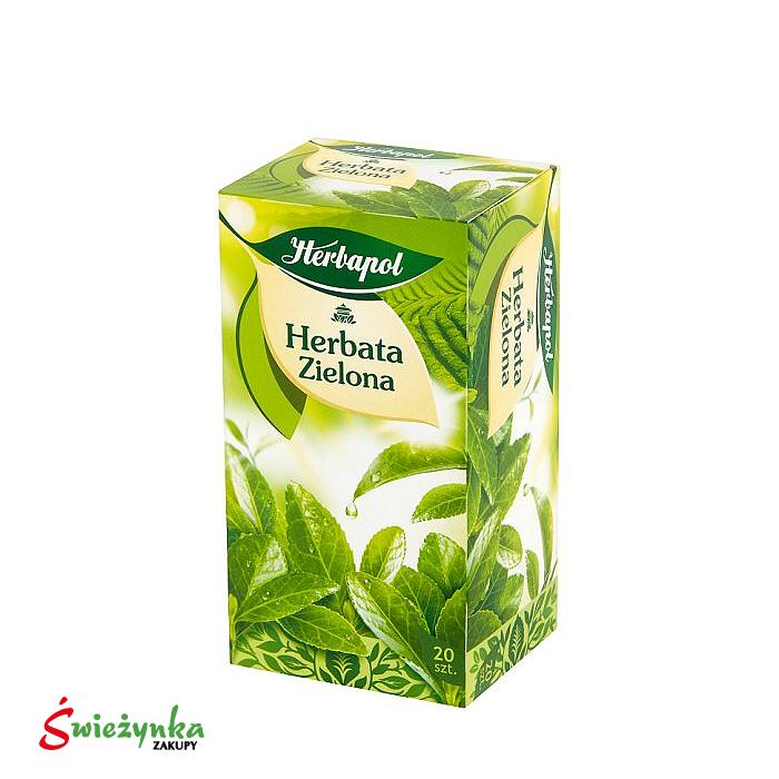 Herbatka zielona Herbapol 40g