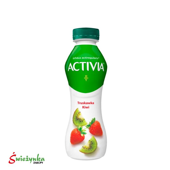 Activia Truskawka Kiwi Jogurt Danone 300g
