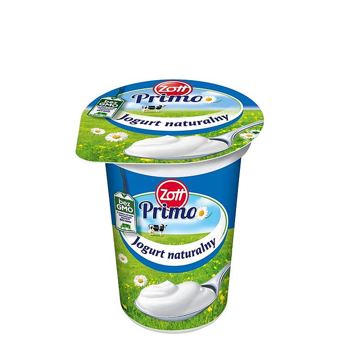 Jogurt Naturalny Zott Primo 180g + 20g