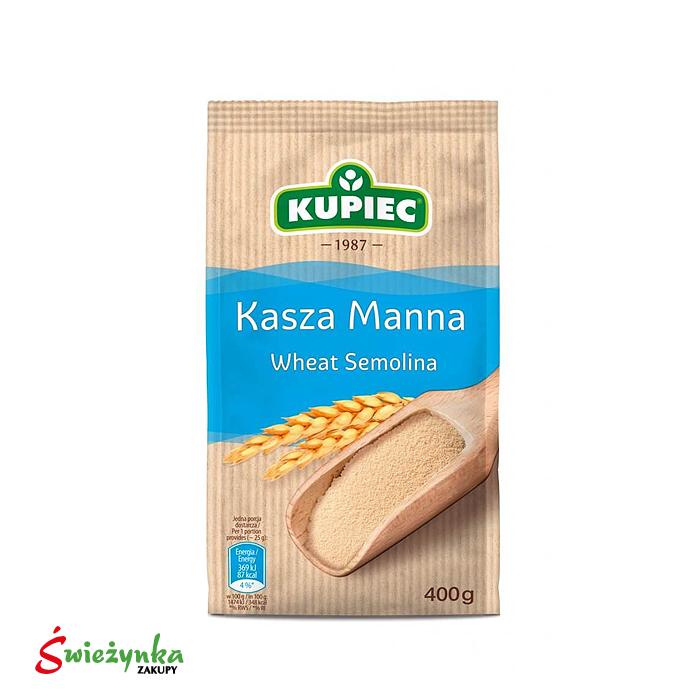 Kasza manna Kupiec 400g
