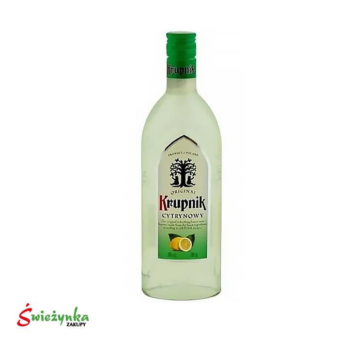 Wódka cytrynowa Krupnik 500ml
