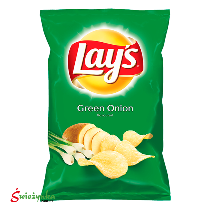 Lay's chipsy ziemniaczane o smaku zielonej cebulki 140g