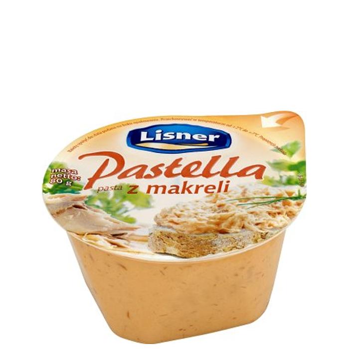 Lisner Pastella Pasta z makreli 80g