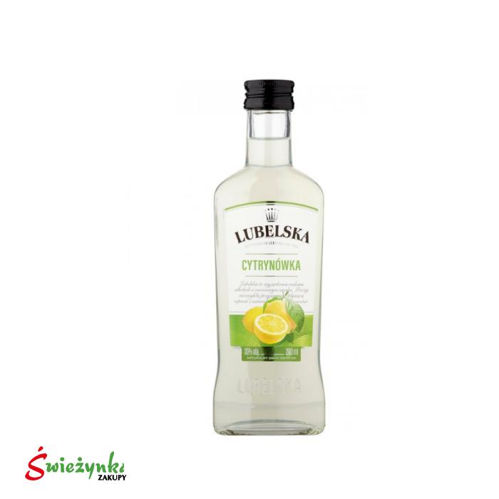 Wódka Lubelska Cytrynówka 200ml