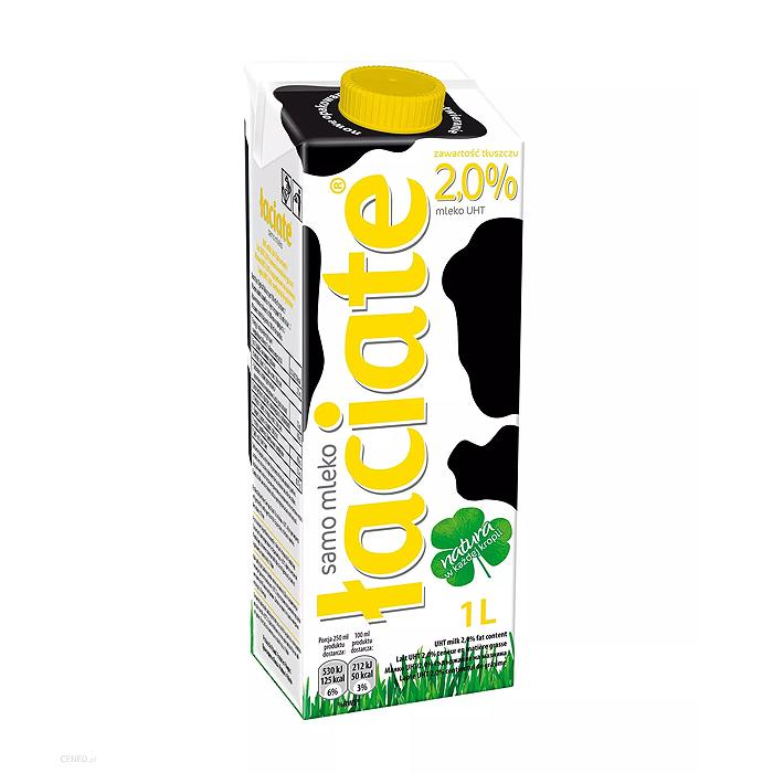 Mleko Łaciate UHT 2,0% 1L