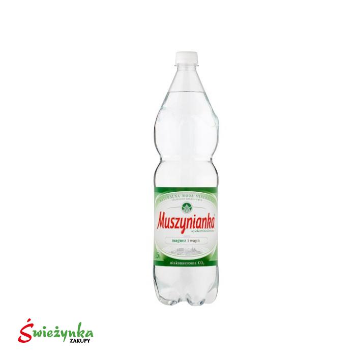 Woda mineralna częściowo odgazowana Muszynianka 1,5 l