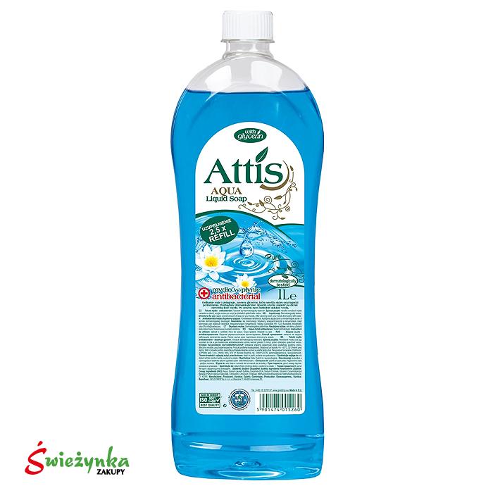 Mydło antybakteryjne Attis zapas 1L