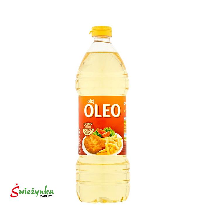 Olej słonecznikowy Oleo 900ml