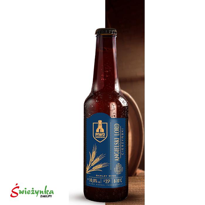 Piwo Angielski Lord Cieszyn butelka 330ml