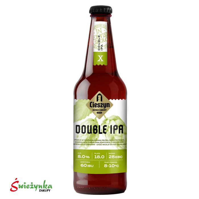 Piwo Double IPA Cieszyn butelka 500ml