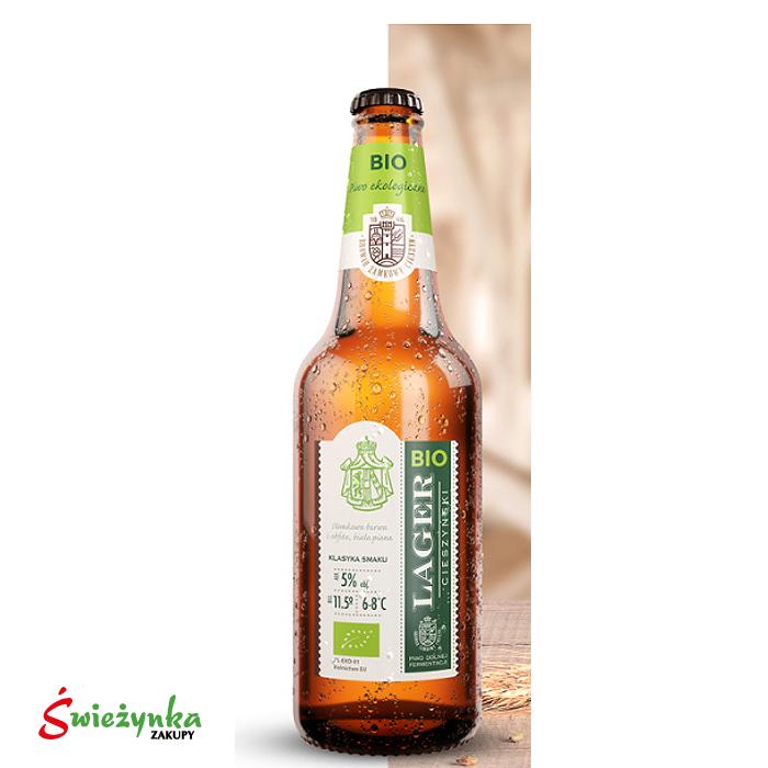 Piwo Lager Bio Cieszyn butelka 330ml