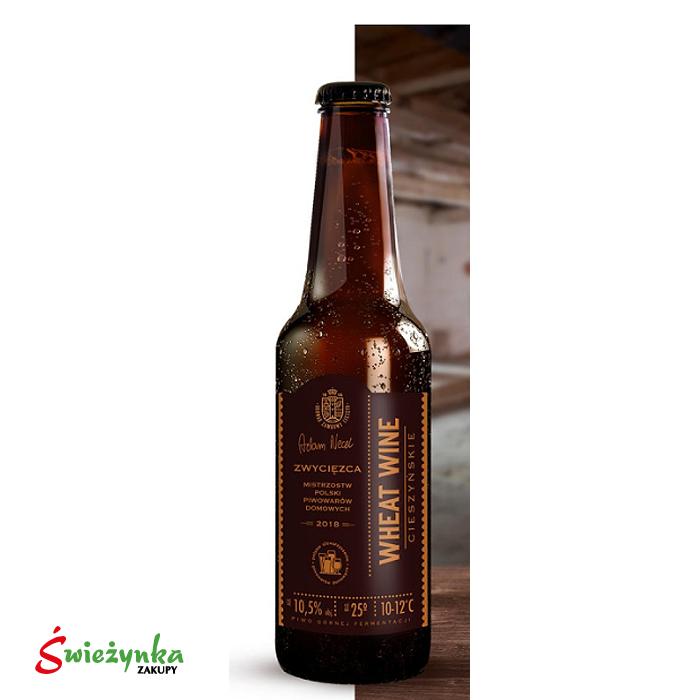 Piwo Wheat Wine Cieszyn butelka 330ml