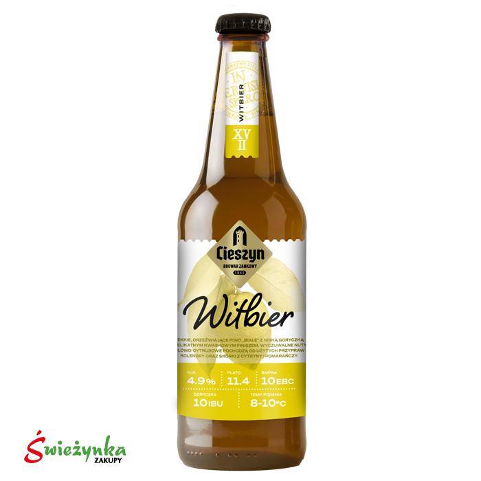 Piwo Witbier Cieszyn butelka 500ml