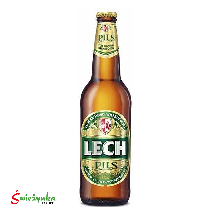 Piwo Lech Pils butelka 500ml