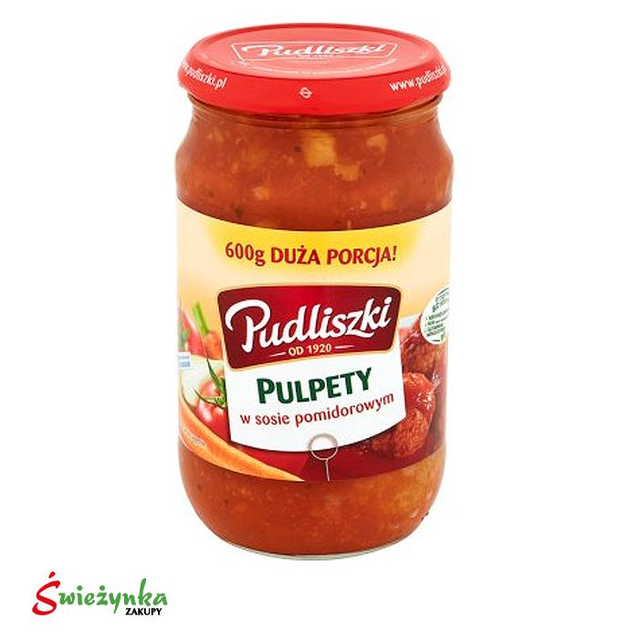Pulpety w sosie pomidorowym Pudliszki 600g
