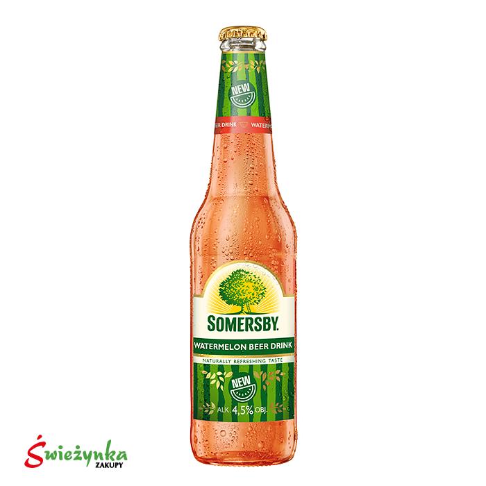 Napój piwny o smaku arbuzowym Somersby 400ml