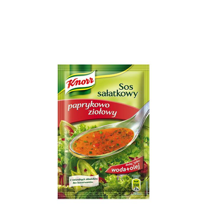 Sos sałatkowy paprykowo-ziołowy Knorr 9g