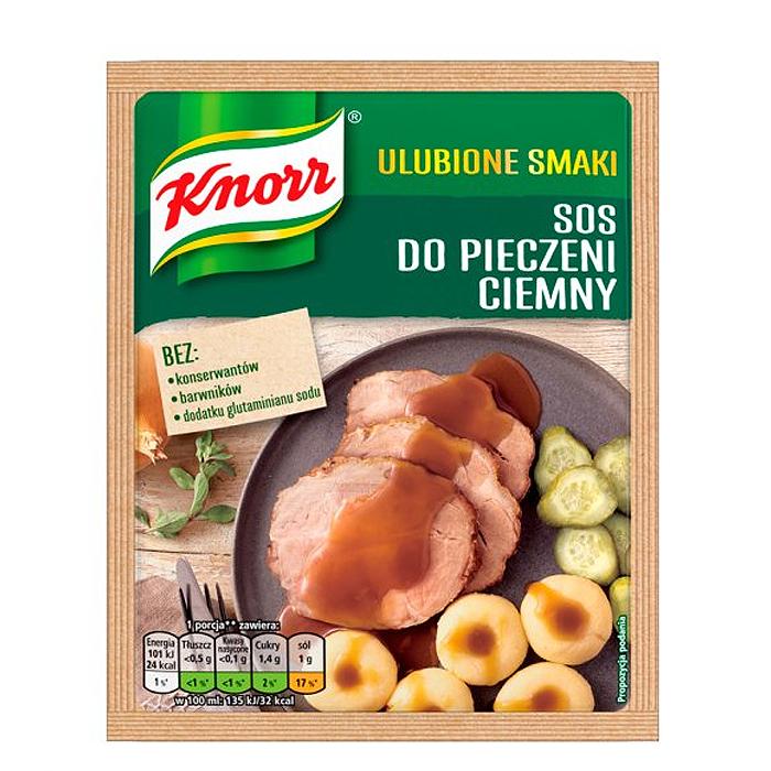 Sos do pieczeni ciemny Knorr 29g