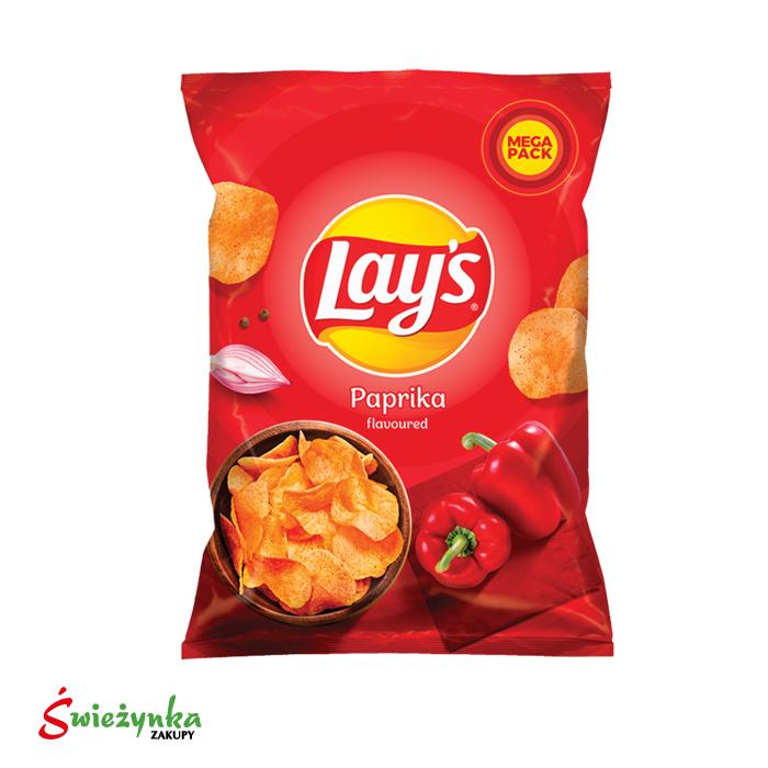 Lay's chipsy ziemniaczane o smaku papryki 240G