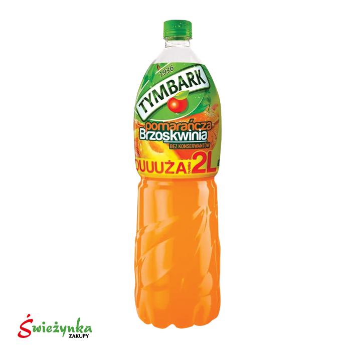 Napój pomarańcza-brzoskwinia Tymbark 2L