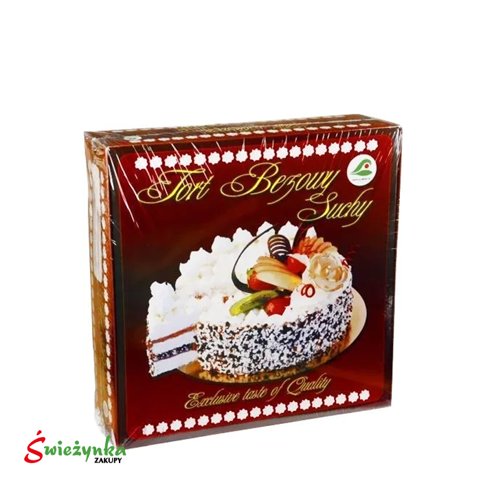 Tort bezowy suchy mały Łubnica 300g