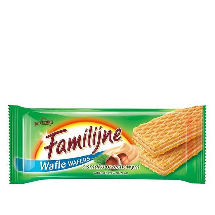 Wafle Familijne orzechowe 180g Colian