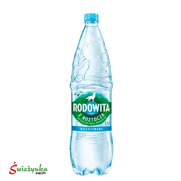 Woda mineralna gazowana Rodowita 1,5 L