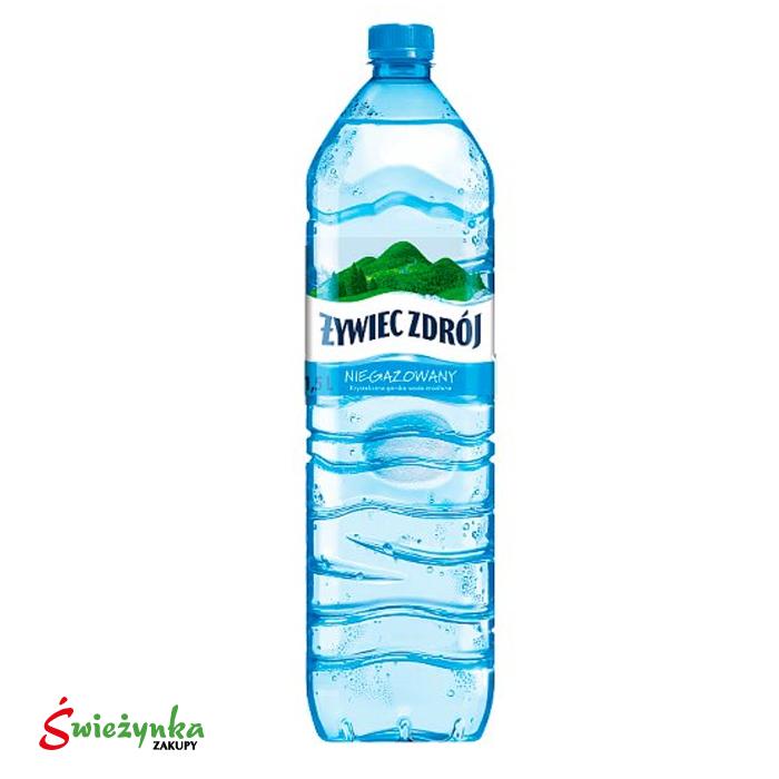 Woda niegazowana Żywiec Zdrój 1,5L