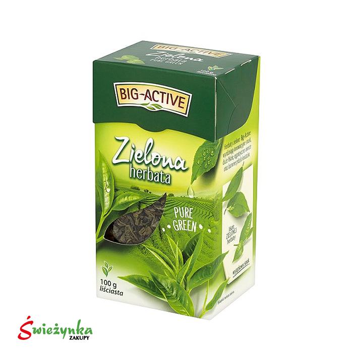 Herbata zielona Gun Powder Big-Active 100g
