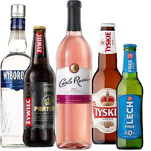 Alkohol, Papierosy